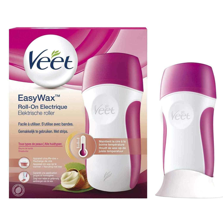 Veet EasyWax Elektrisches Warmwachs Roll-On-System Alle Hauttypen