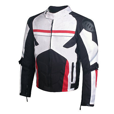 AirTrek Mens Mesh Motorcycle Touring Waterproof Rain Armor Biker Jacket Armored Mesh Motorcycle Jackets