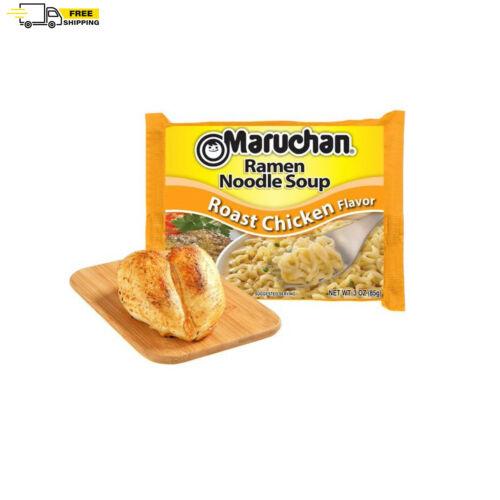 (24 Packs) Maruchan Roast Chicken Instant Ramen, 3 oz FREE SHIPPING