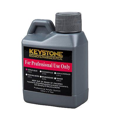 Professional Acrylic Liquid for Nail Art Powder Tips 120ml LW