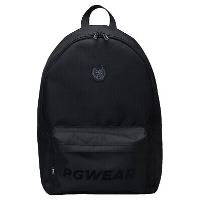 Wanderer Erweiterbar Rucksack (PGwear Rucksack Wanderer schwarz Tasche Backpack Ultras Casual Fussball Hooligan)