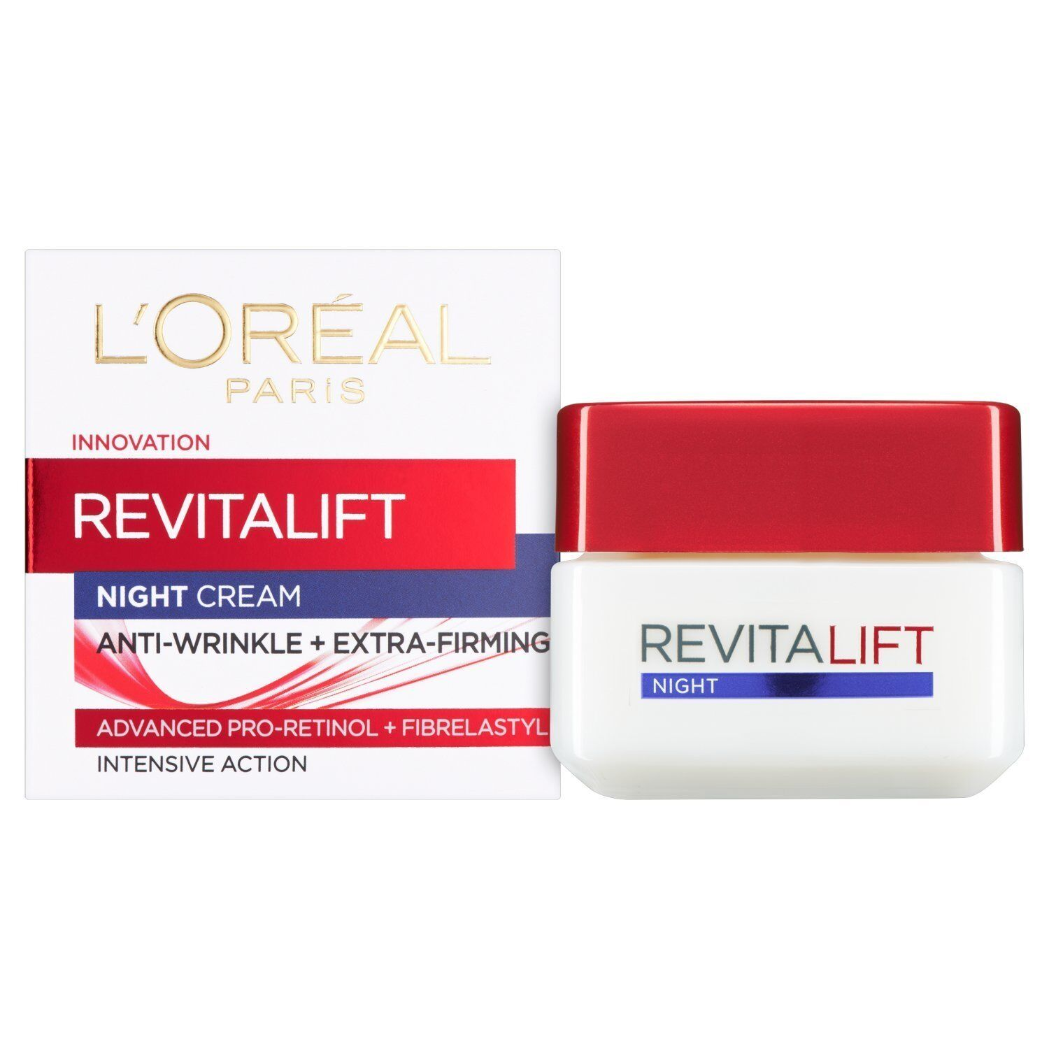 L'Oreal Paris Revitalift Anti-Wrinkle + Firming DAY or NIGHT Cream 50ml