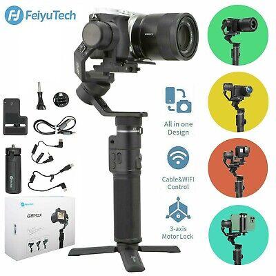 Feiyu G6 Max Gimbal Stabilizer for Smartphone, Action/ Mirrorless/ Pocket/Camera