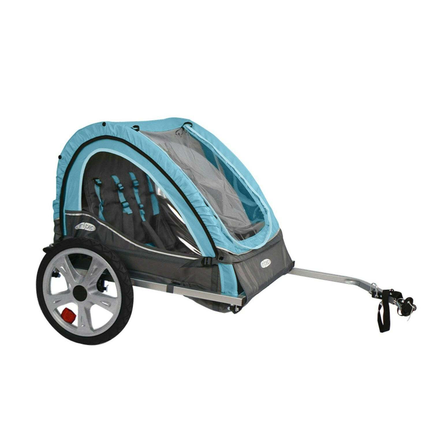 InStep Qe127 Take 2 Double Bicycle Bike Baby Pet Trailer ...
