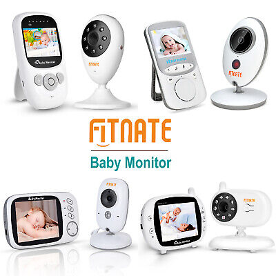 Infrared Digital Surveillance Camera - Video Baby Monitor with Digital Camera Room Temperature Infrared Night Vision