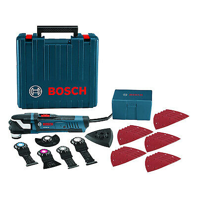 Bosch Gop40-30c 120 V Starlockplus Oscillating Multi-tool 32 Piece Kit Blue