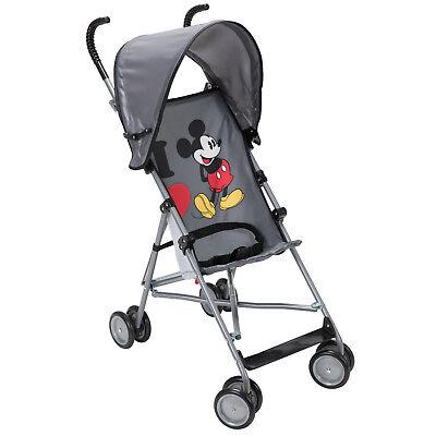 Umbrella Stroller with Canopy -I Heart Mickey