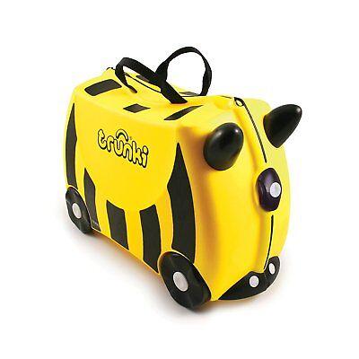 Trunki Original Kids Ride-On Suitcase and Carry-On - Bernard Bee -