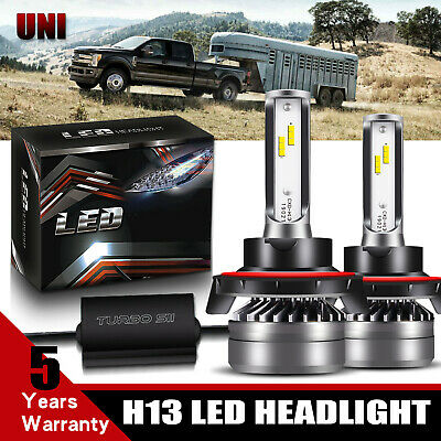 H13 LED Headlight Bulbs For Ford F150 2004-2014 F-250 F-350 Super Duty