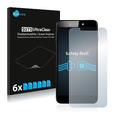 6x Displayschutzfolie Prestigio Grace Z5 PSP5530 Duo Schutzfolie Displayfolie