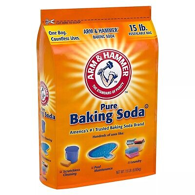 Arm & Hammer Pure Baking Soda 2 Pack of 15 lbs