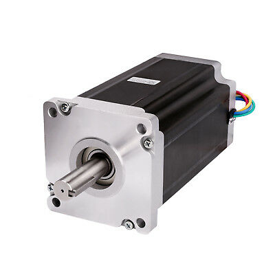 1 Pc Nema 42 Stepper Motor 4120 Oz.in 8.0a 19mm Shaft With Keyway Cnc Kits