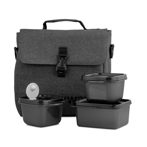 Tupperware New Urban Lunch Set Airtight Spill-Proof Vent to Reheat Container FS