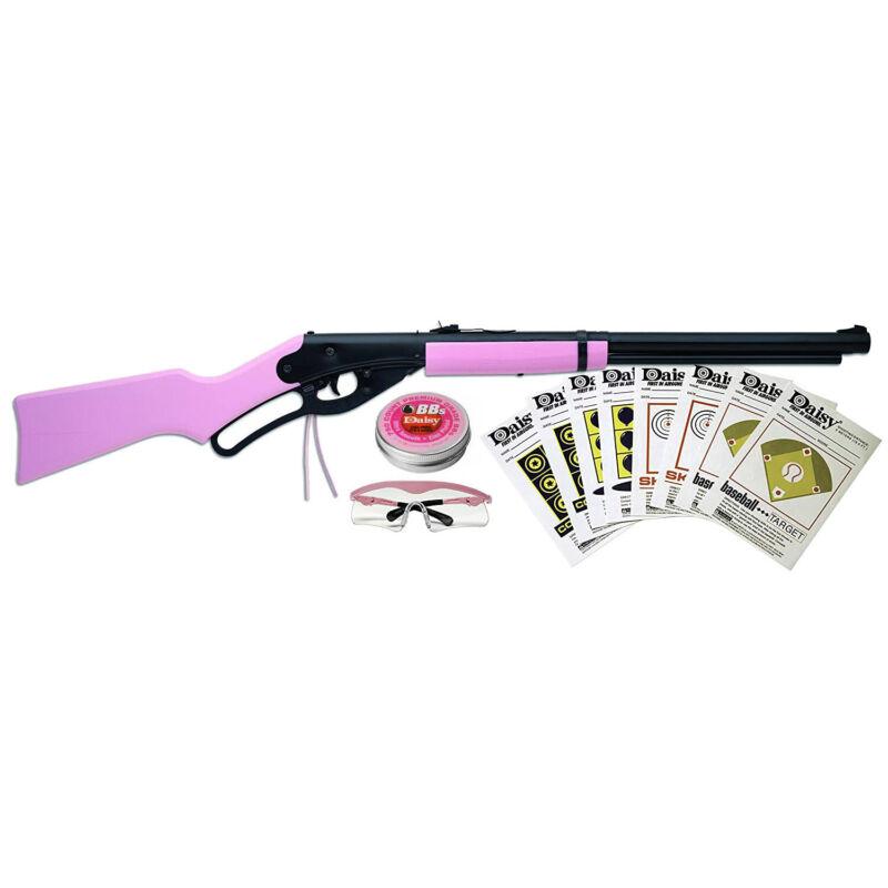 Daisy Carbine Lever Action Bb Gun Fun Kit - Pink