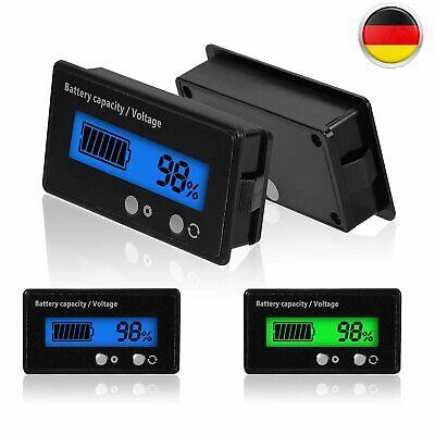 Wasserdicht DC 12V Digital Voltmeter Spannungsmesser Voltanzeige Panelmeter Auto Dc 12v Auto