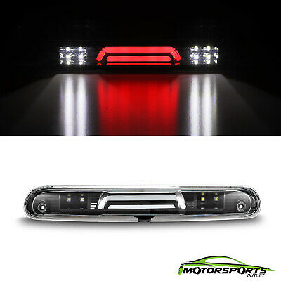 Chevrolet Third Brake Light (Black Third Brake Light for 2007-2013 Chevy Silverado GMC Sierra 1500 2500)