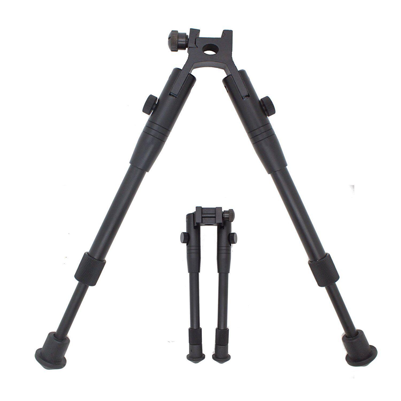 Airsoft Sniper Rifle Bipod Picatinny Weaver Rail Mount Stabi