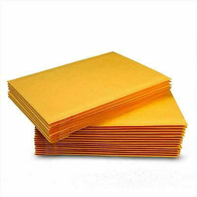 100 0 6x10 Kraft Paper Bubble Padded Envelopes Mailers Bag Shipping Case 6x10