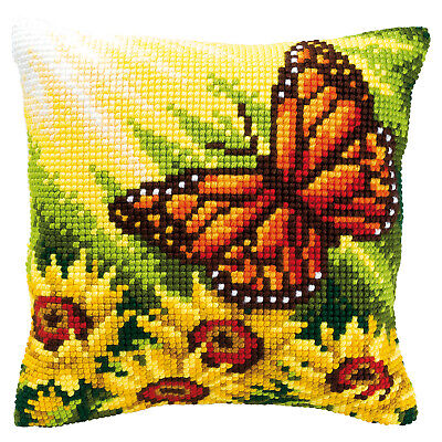 Butterfly PN-0008548 Vervaco Cross Stitch Cushion Kit