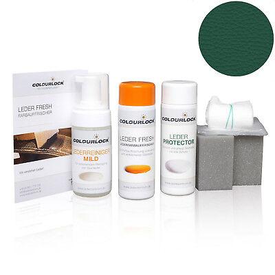 Colourlock Glattleder Nachtönungs- und Pflegeset mild RAL 6012 Schwarzgrün