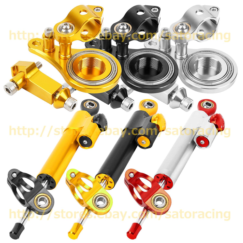For Kawasaki Z1000 Z750 2003-2009 CNC Steering Damper Bracket Mount Kits 2008