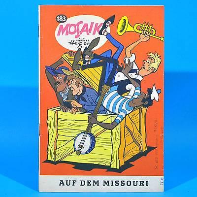 Mosaik 183 | Digedags Hannes Hegen Originalheft | DDR | Sammlung original WL