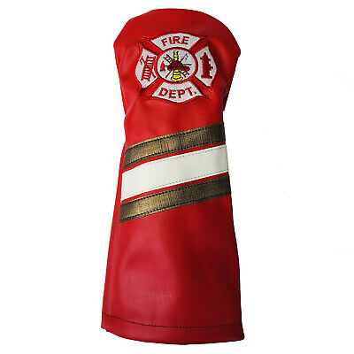 Firefighter Golf Accessories (Firehouse Firefighter  Sunfish Leather golf driver)