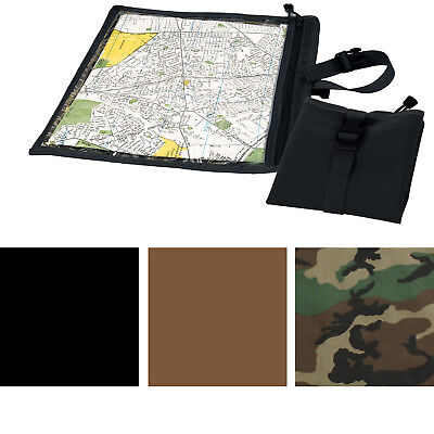 Waterproof Map & Document Case Tactical Protection Camo Military Pocket -