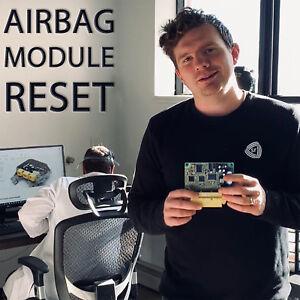 ALL SRS AIRBAG MODULE RESET SERVICE RESTRAINT CONTROL REPAIR RCM SDM ACM FIX