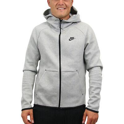 Nike Sportswear Tech Fleece Windrunner Hoodie Jacke Herren 928483 063 Grau