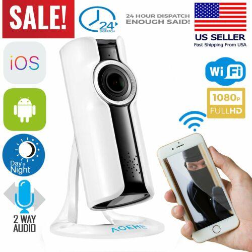 Home Security WiFi IP Camera Spy Surveillance System Wireles
