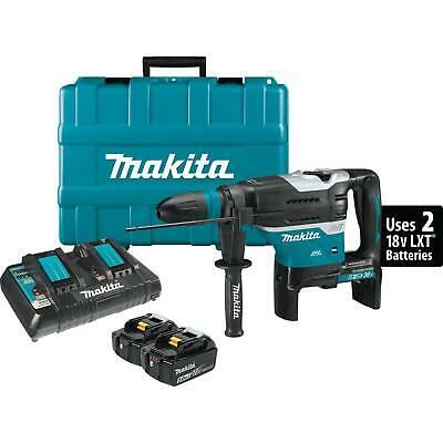 Makita Xrh07ptu 18v X2 Lxt 1916 Rotary Hammer Kit Sdsmax - Brand New