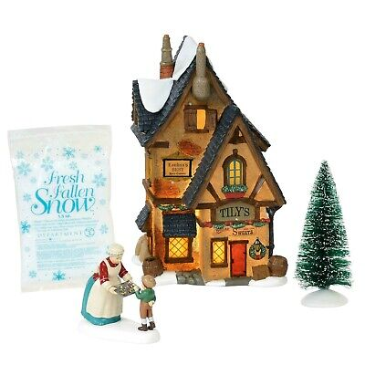 Tilys Boiled Sweets box set Dept 56 Dickens Village Christmas 6000588 snow A ()