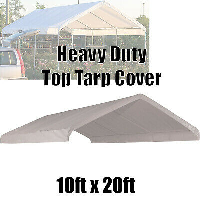 10' x 20' Carport  Roof Top Canopy Cover Tarp Replacement Outdoor Carport tarp for sale  Shipping to South Africa