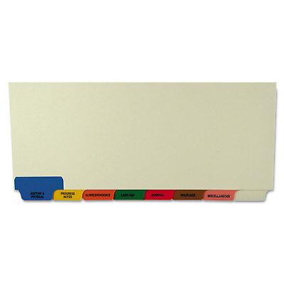 Tabbies Medical Chart Divider Sets Bottom Tab 8 1/2 x 11 3/8 40 Sets/Box 54500