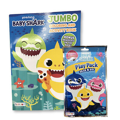 Play Pack Grab And Go (Baby Shark Grab and Go Play Pack and Coloring Book)