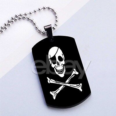 Flag Pendant Photo Dog Tag (Grave Digger Flag Custom Photo Dog Tag Jewelry Necklaces Pendant Chain)