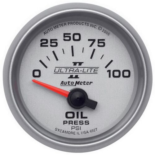 AutoMeter 4927 Ultra-Lite II Electric Oil Pressure Gauge