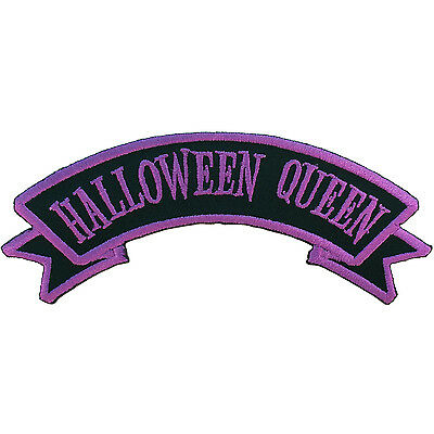 Kreepsville 666 Halloween Queen Horror Punk Embroidered Iron On Patch PAPUHQ](Horror Punk Halloween)