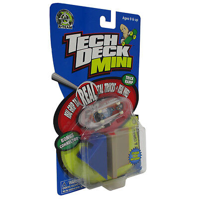"Tech Deck Mini Collect & Connect Trick Ramp ""A-Team"" - Jet"