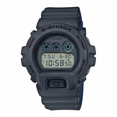 Casio DW6900LU-8 G-Shock 50MM Men's Grey Resin Watch