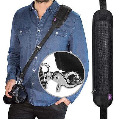Rapid Fire™ Camera Strap - Neck Shoulder Sling w/ Quick Release by Altura Photo®