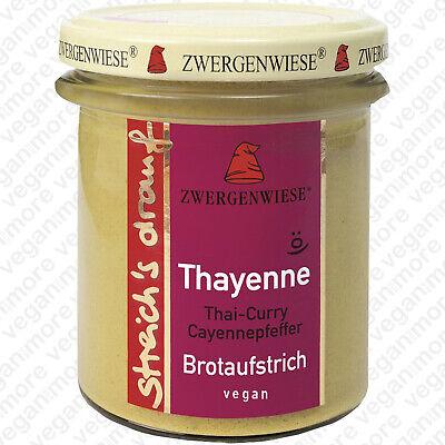 Zwergenwiese Bio Thayenne 160 g   Brotaufstrich   vegan   glutenfrei   hefefrei