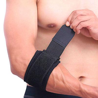 Tennisarm-Bandage Tennis Ellenbogenbandage Golf Armbandage Epicondylitis Spange