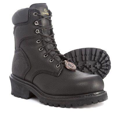 257b52355bc NEW CHIPPEWA IQ INDUSTRIAL Logger Boots Mens 8