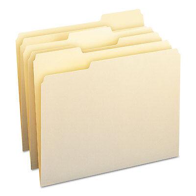 Smead File Folders 13 Cut Assorted One-ply Top Tab Letter Manila 100box 10330