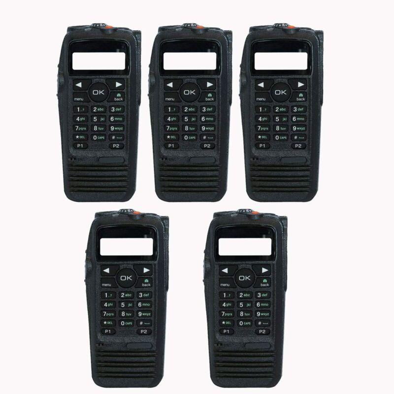 5Pack Radio XPR 6550 Housing Case for Motorola Radio XPR6550 XPR Radio Black