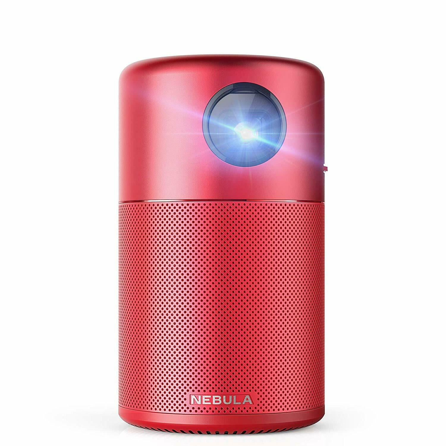 Nebula Capsule Smart Mini Projector, by Anker, Portable 100