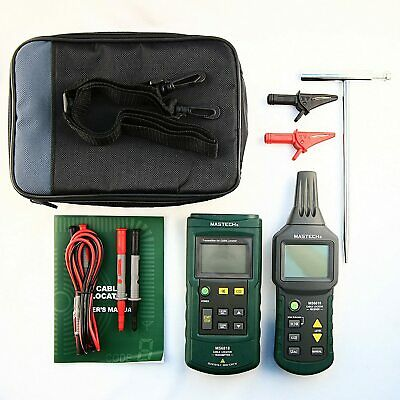 Mastech Ms6818 Advanced Wire Cable Tracker Pipe Locator Tester Meter New
