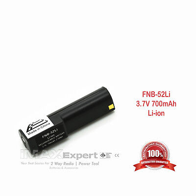 New 700Mah Fnb 52Li Fnb52li Battery For Yaesu Vx 1R